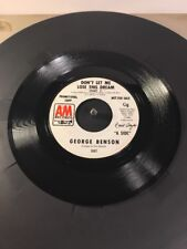 George Benson Don't Let Me Lose This Dream Part 1 & 2  Promotional A&M Record 45
