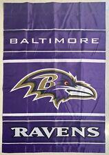 NFL Baltimore Ravens Banner Flag - Large, 2 Sided