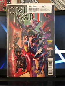CIVIL WAR II #1 Campbell MIDTOWN Variant HTF VF TO NM 👀 CK STORE OUT!
