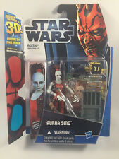 Star Wars Discover The Force Aurra Sing Action Figure MOC New Wal-Mart Exclusive