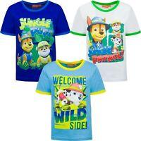 Paw Patrol T-Shirt für Jungen Kinder Nickelodeon T-Shirt Kurzarm 98 104 110 116