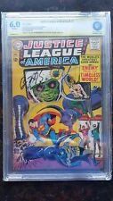 Justice League of America # 33 - CBCS 6.0 Off-White  Pages SS Ben McKenzie