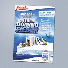 real,- Domino Fieber ICE AGE4 ■ ■ Übersicht + Spielanleitung ■ ■ unbespielt NEU