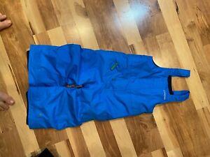 patagonia toddler snow pants- blue- 2T