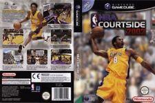 NBA COURTSIDE 2002 Gioco per Nintendo GAMECUBE e WII Completo in ITALIANO PAL