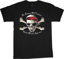 Sale: Men's Large - Funny Pirate Shirt Mens Graphic Tee Clothing