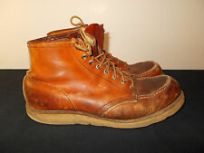 VTG Red Wing Irish Setter Work Hunting Crepe Sole USA Boots Mens 11B SKU2
