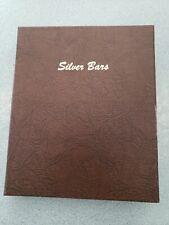 DANSCO Silver BAR Album UNIVERSAL BINDER 1 nice Binder only can take 5 pages