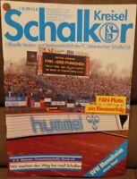 FC Schalke 04 Schalker Kreisel Magazin 04.04.1991 2.Bundesliga SVW Mannheim /589