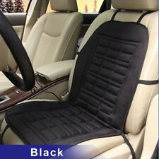 12V Black Winter Heat Car Seat Cover Thermal Pad Warm Left Front Seat Cushions