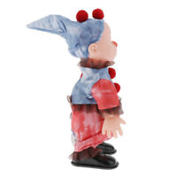 Scary Electric Clown Ghost Figure Doll - Walking & Scream with Creepy Sounds