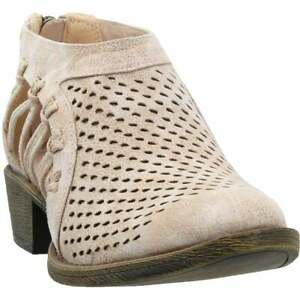 COCONUTS by Matisse Lilah Perforated Shootie  Womens  Booties Casual  Low Heel