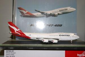 Inflight200 1:200 Qantas Boeing 747-400 VH-OEJ (QANTAS-LAST-747) defect