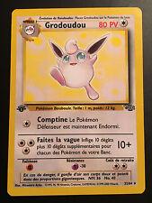 Carte Pokemon GRODOUDOU 32/64 Rare Jungle Wizard Française EDITION 1 NEUF
