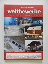 Wettbewerbe Architekturjournal Architektur Zeitschrift Heft 200 Dez 2000
