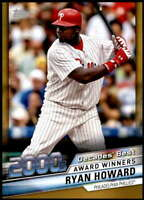 Ryan Howard 2020 Topps Decade's Best Series 2 5x7 Gold #DB-83 /10 Phillies