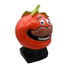 NEW Latex Tomato Head Human Full Face Mask Helmet Cosplay Props Halloween Party