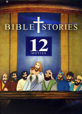 Bible Stories - 12 Movies (Animated) (Black Sp New DVD