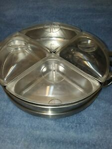 Nostalgia Electrics Lazy Susan Buffet Warmer, Food Warmer ,buffet , Taco Station