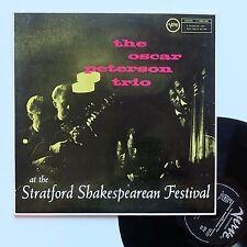 "Vinyle 33T The Oscar Peterson Trio  ""At the Stratford shakespearean festival"""