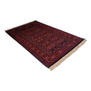 New Indian Designer Handmade Woolen Hand Knotted Rug 4x 6 Feet