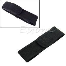 New Nylon Holster Holder Belt Pouch Case Bag For LED Flashlight Torch