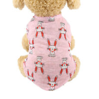 Spring Summer Puppy Dog Cat Cute Clothes Breathable Pet Vest Coat Outfit Supply