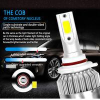 2x 60W 6000LM 6000K COB LED HB4 9006 Car Headlight Kit High Low Beam Bulbs White