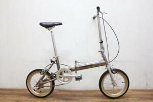 Panasonic Traincle 7500 B-PEMT223S 7.5kg / Titanium frame / Used folding bike