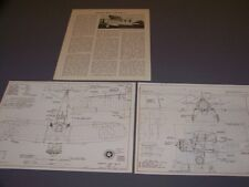 VINTAGE...MARTIN BM-1 & BM-2.. 4-VIEWS/DETAILS/SPECS..RARE! (944M)
