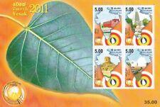 Sri Lanka 2011 Vesak Miniature Sheet MNH