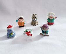 Lot of 6 Hallmark Merry Miniatures Include Christmas Winter Igloo