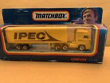 "Rare Matchbox Convoy CY-25 DAF Box Truck - ""IPEC"" In Box"