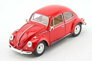 NEW Kinsmart 1967 Volkswagen Classical Beetle VW diecast 1:24 model toy RED