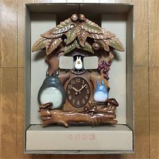 Rhythm watch My Neighbor Totoro Karakuri Trick Melody Wall Clock F/S JAPAN NEW