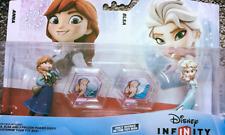 DISNEY INFINITY 1.0 FROZEN TOY BOX PACK ANNA ELSA +POWER DISCS  RRP£19.99