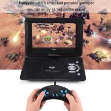 "13.9"" HD TV Spieler Tragbar DVD CD Game Player 800*480 16:9 LCD Bildschirm FM s0"