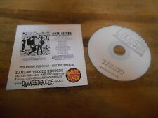 CD punk Cute Lepers-SMART Accessories (13) canzone PROMO damaged goods CB