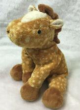 2003 Ty Pluffies Lasso Giraffe Plush Stuffed Animal lovey toy