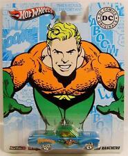 1965 '65 FORD RANCHERO DC COMICS AQUAMAN HOT WHEELS HW DIECAST REAL RIDERS