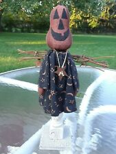 Primitive Pumpkin Head Angel Doll  ~ Halloween ~ 🎃