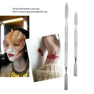 S/L Double-Ended Scar Wax Spatula Applicator Special Effects FX Makeup Tool NEW