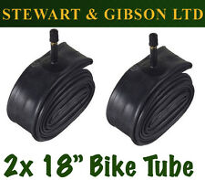 2 x IGNITE 18 INCH INNER BICYCLE TUBE TUBES 1.75 - 2.125 MOUNTAIN BIKE SCHRADER