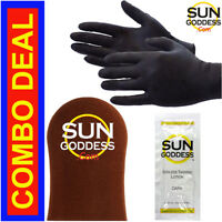 Sun Goddess - Sunless Self Tanning Mitt + Sunless Self Tanning Lotion & Gloves