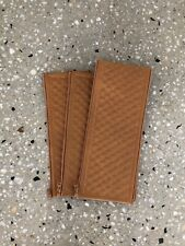 BUGABOO CAMELEON 1 & 2 LEATHER HANDLE BAR & BELLY BAR COVERS (TAN QUILTED)