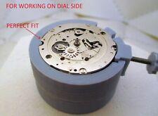 Specific movement holder for Citizen 8110 chronograph bullhead.