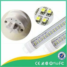 10 Pack LED Two Lines T8 Tube Light Double Line 36W Dual Diode Lamp 3600LM White