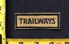 Vintage Trailways Bus Driver Uniform Patch