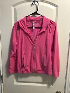 LULULEMON Shape Jacket- Neon Pink. Size 6
