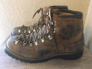 Vintage Vasque All Leather Hiking Boots US Men's 13 M